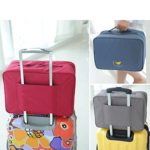 CONNECTWIDE® Multifunctional Travel Packing Cubes Duffle Bag, Men & Women Travel Bag...
