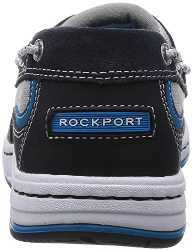 Rockport 3-Eye Boat, Cheville Chaussures Bateau Homme Bleu (New Dress Blues)