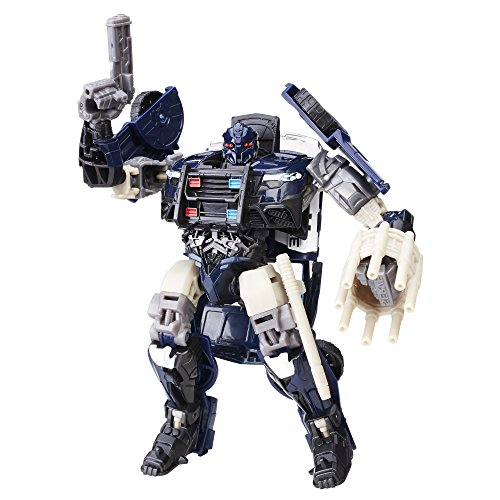 Transformers The Last Knight Deluxe Barricade Action Figure, Ages 8 and Up