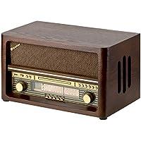 Roadstar HRA-1540UE/BT - Radio CD, color madera
