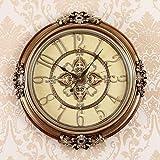 Orologio da parete orologio da parete stile europeo orologio da parete orologio da parete personalità creativa moderna e creativa (dimensioni: 52 cm * 52 cm) ( Colore : - , Dimensione : 24cm*32cm )