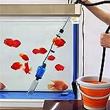 soundwinds - Aspiradora eléctrica para Acuario con Filtro de Agua para Tanque de Peces, para Limpieza de peceras Grandes y pequeñas