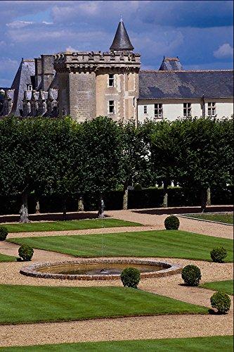 607054 Chateau De Villandry Loire Region France A4 Photo Poster Print 10x8 - Chateau Villandry