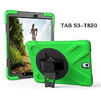 Aprigy For Tab S3 SM-T820 - Carcasa rígida de silicona para Samsung Galaxy Tab S3 9.7 T820 T825, verde