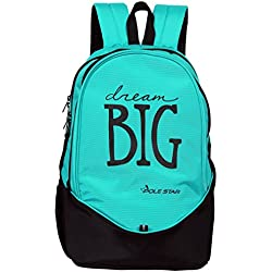 Polestar BIG 3 Compartment Polyester 36 Liters Turquoise Blue College, Laptop Backpack