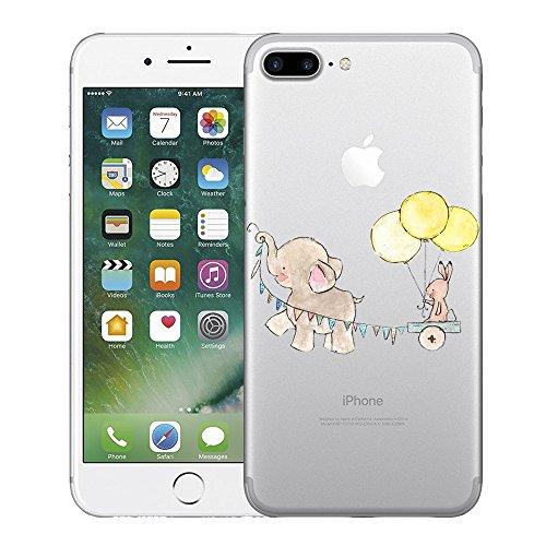 Schutzhülle für iPhone 7 Plus und 8 Plus, tropisches Element-Design, für iPhone 7 Plus und 8 Plus, Free, 8