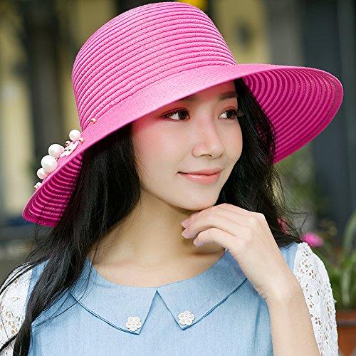 zmzxcap-nios-verano-parasol-plegable-de-la-sra-marea-mxima-uv-a-lo-largo-de-la-playa-sun-hat-chun-so