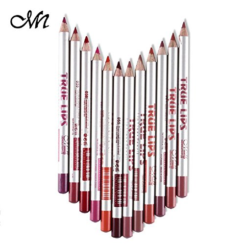 Me Now True Lips Lip Liner Pencil-Set Of 12