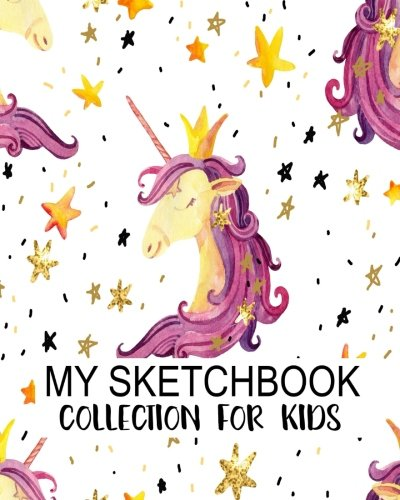 My Sketchbook Collection For Kids: Blank Sketchbook For Kids, Blank Journal, Blank Notebook, Drawing Pad: Volume 5