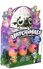 HATCHIMALS - 6043960 Colleggtibles 4 Pack + Bonus S4
