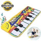 Alfombra de teclado táctil musical para bebé