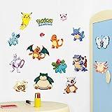 zooarts Cartoon Tiere Dinosaurier Schildkröte Wiederablösbare Sticker Art Decor Vinyl Aufkleber Kinder Kind Zimmer Wandbild