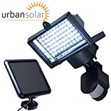 Urban Solar 60 LED Solar Powered Security PIR Light