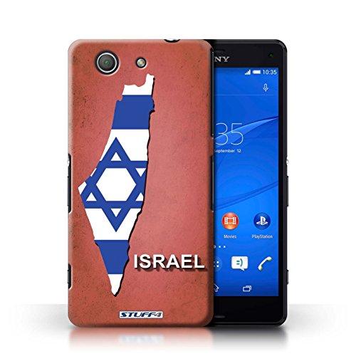 Kobalt® Imprimé Etui / Coque pour Sony Xperia Z3 Compact / Australie conception / Série Drapeau Pays Israël/Israélien