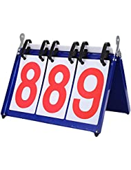 Sport Compétition Scoreboards Basketball Double Digit Tableau de bord-Bleu