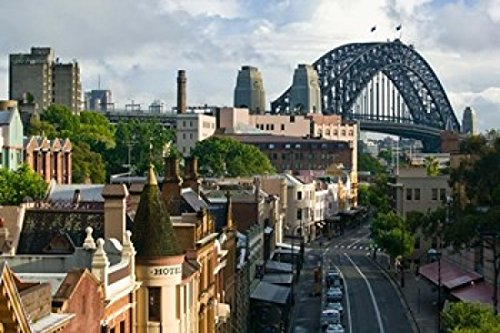 The Poster Corp Walter Bibikow/DanitaDelimont - Australia New South Wales Sydney George Street Photo Print (65,02 x 43,28 cm)