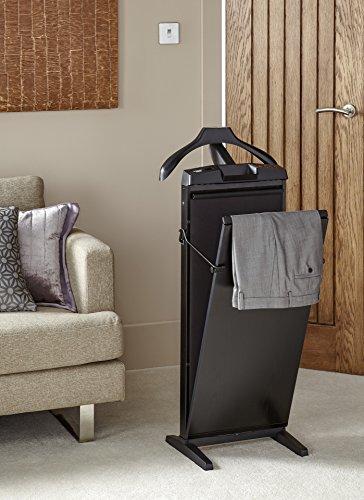 Corby of Windsor Hosenbügelpresse Trouser Presses 7700, escheartig schwarz, elektrisch 3-stufig beheizbar, freistehend oder wandhängend, Versand kostenlos