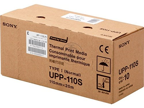 Sony UPP 110S - Thermopapier - Rolle (11 cm x 20 m) - 1 Rolle(n) - für UP 890MD, 895MD, 897MD, D895, D897