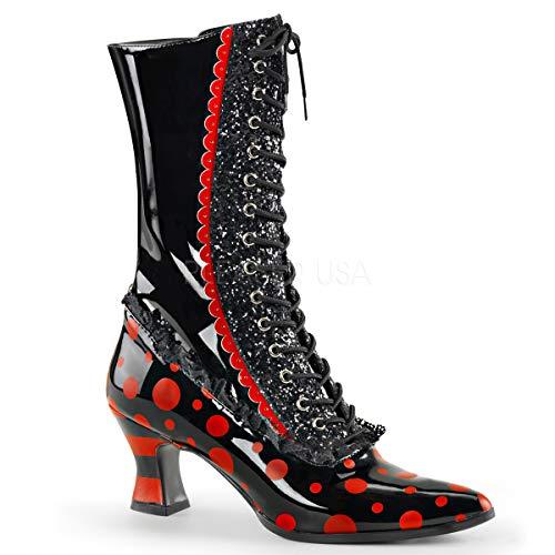Funtasma Women VICTORIAN-122/B-R Boots