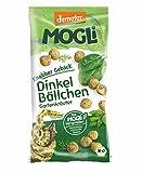 MOGLi Bio (demeter) Dinkelbällchen 10er Pack, (10 x 50g) (Gartenkräuter)