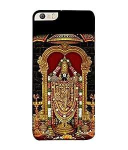 PrintVisa Designer Back Case Cover for Micromax Canvas Knight 2 E471 (Religious Triupati Balaji Bhagwan Spritual)