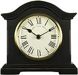 Acctim 33283 Falkenburg Mantel Clock, Black