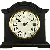 Acctim 33283 Falkenburg Reloj de chimenea, color negro