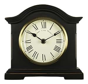 Towcester Clock Works Co. Acctim 33283 Falkenburg Horloge de cheminée (Noir)