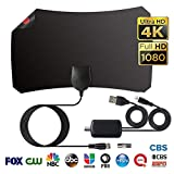 Best Aerial Antenna Boosters - TV Aerial, Indoor Digital HD TV Antenna 75-120 Review