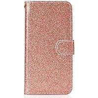 Gelusuk iPhone X Hülle,Luxus PU Leder Flip Case Brieftasche Etui Schutzhülle Magnet Bookstyle Wallet Case mit Kartenfach Standfunktion für iPhone X 5.8Zoll