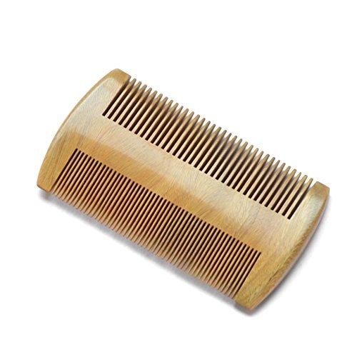 Peigne à barbe en bois naturel. Couleur bois naturel. Dents fines et standards. Toilettage pour hommes by DELIAWINTERFEL