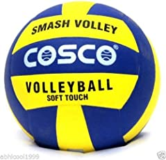 COSCO SMASH PREMIUM Volley Ball Size-4 (COMPOSITE LEATHER PASTED)