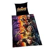 Infinity War Bettwäsche Avengers Hulk Iron Captain America 135 x 200 Neu Wow - All-In-One-Outlet-24 -