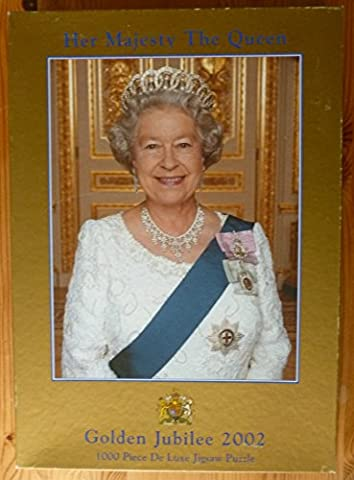 GIBSONS, HER MAJESTY THE QUEEN, GOLDEN JUBILEE 2002, 1000 PIECE