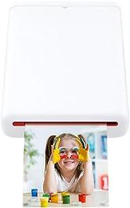 Stampante fotografica mobile Bluetooth, Mini Stampante portatile per foto da 2x3 pollici Adesivi in carta Stampa rapida