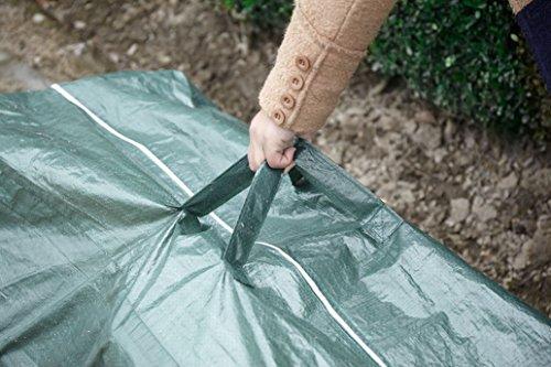 Green Yard Aufbewahrungstasche für Garten- und Liegestuhlauflagen, ca. 125 x 50 x 35 cm