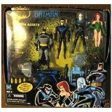 Batman the Animated Series: Frozen Assets Box Set 4 Action Figures (Batman, Nightwing, Mr. Freeze, Poison Ivy)