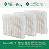 3 - HC-819 & HC-818 Honeywell, AC-819 & AC-818 Duracraft, 14803 Sears Kenmore Humidifier Wick Replacement Filters. Designed by FilterBuy to be used in DH8000, DH8002, DH8003, DH8004, & DH8005. by FilterBuy