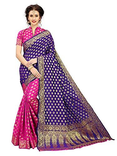 Indian Beauty Silk Saree With Blouse Piece