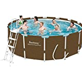 Bestway–Pool Frame 956x 488x 132cm + Tonerpatrone Teichklärer