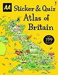 Sticker & Quiz Atlas of Britain (Acti...