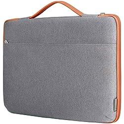 """Inateck Sleeve Protettiva per laptop 15-15,6 pollici. Borsa per Laptop imbottita idrorepellente con Manici e cerniera per notebook, ultrabook e netbook 15""""-15,6"""" varie marche"""