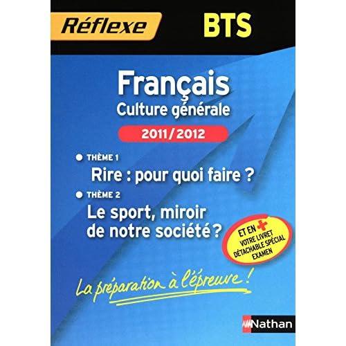FRANCAIS BTS THEMES 2011/2012
