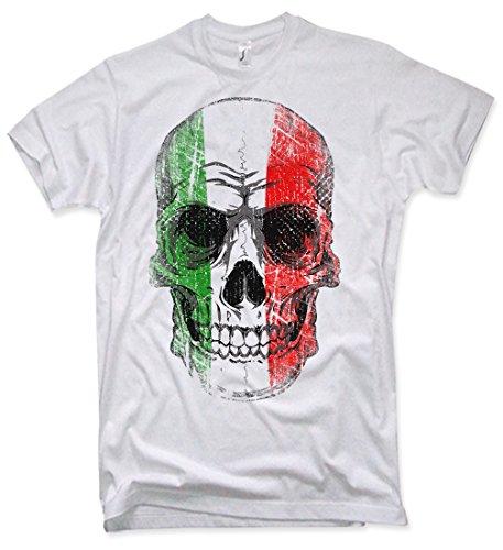 NG articlezz Italy Skull T-Shirt, Italien, Totenkopf,, Gr. S – XXL