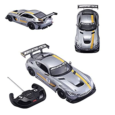 1:14 Mercedes AMG GT3 Performance Electric RC Radio Remote Control Car Toys Gift - The Perfect Gift For Your Children.