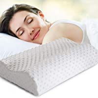 POKARI™ Cervical Contour Memory Foam Pillow,Orthopedic Pillow for Neck Pain,Orthopedic Contour Pillow Support for Back…