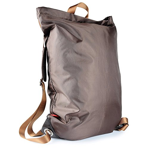Wäschebeutel,VDS Wäschekorb Drawstring Aufbewahrungsbeutel Wäschesäcke für für BH,Dessous, Socken, Strumpfhosen, Strümpfe und Baby Kleidung (Braun)