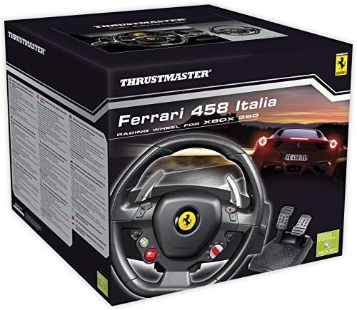 Thrustmaster Ferrari 458 Italia (Lenkrad inkl. 2-Pedalset, Xbox 360 / PC)