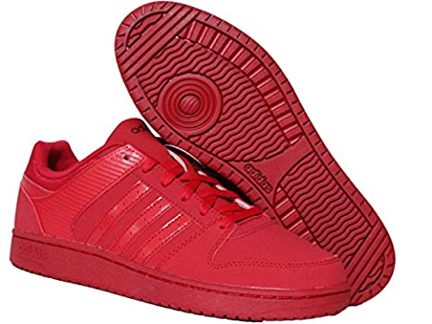 adidas , Basses mixte adulte femme - rouge - Red,