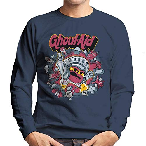 Ghouls N Ghosts Cool Aid Men's Sweatshirt - Cool Ghoul, Ghost